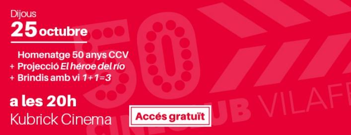 Cineclub Vilafranca celebra els seus primers 50 anys