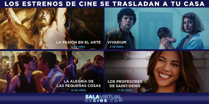 Cineclub Vilafranca i A Contracorriente Films us porten cinema d'estrena a les vostres llars.